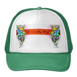 love, heart-2, I <3 My Wife Trucker Hat