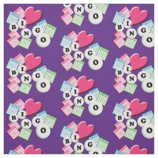 Love Heart Bingo Fabric