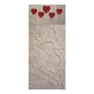 Love Heart Bookmark Card