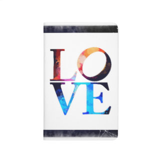 Love Heart Colorful Journal