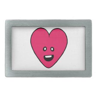 Love Heart cute health indicator design Rectangular Belt Buckles