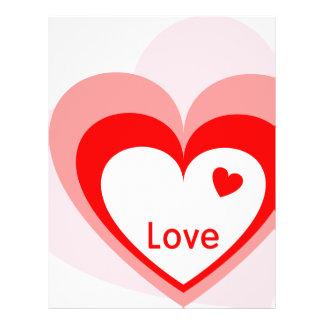 Love Heart Full Color Flyer