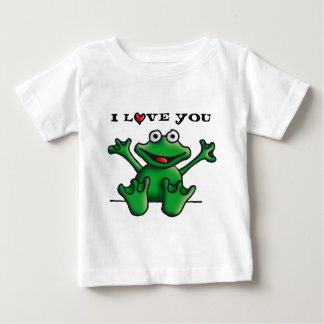 love heart frog baby T-Shirt