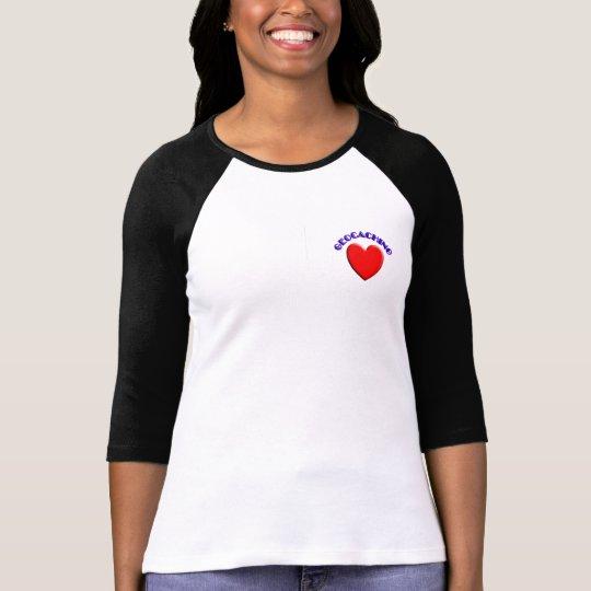 Love (heart) geocaching T-Shirt