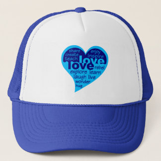 Love Heart hat