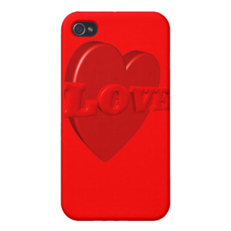 Love Heart iPhone Case iPhone 4/4S Cases