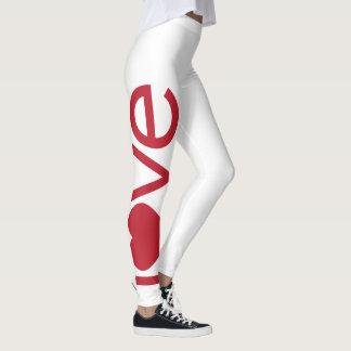 Love heart leggings