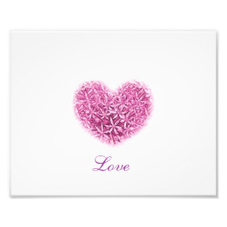 Love Heart PhotoPrint. Photo Art