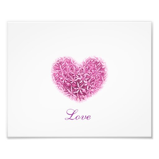 Love Heart PhotoPrint. Photographic Print