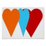 Love Heart Posters