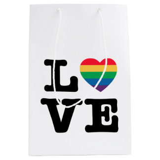 Love Heart Pride Gift Bag