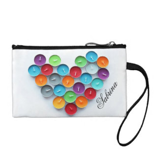Love Heart Scented Candles Coin Purse