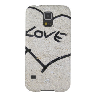 Love Heart sign Galaxy S5 Cover