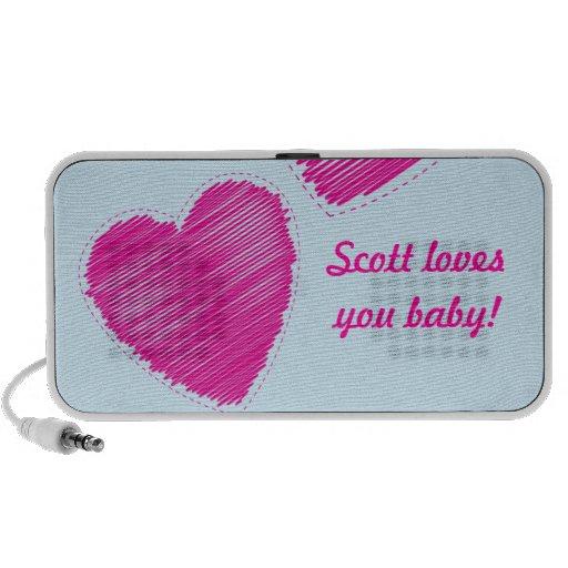 LOVE heart speakers
