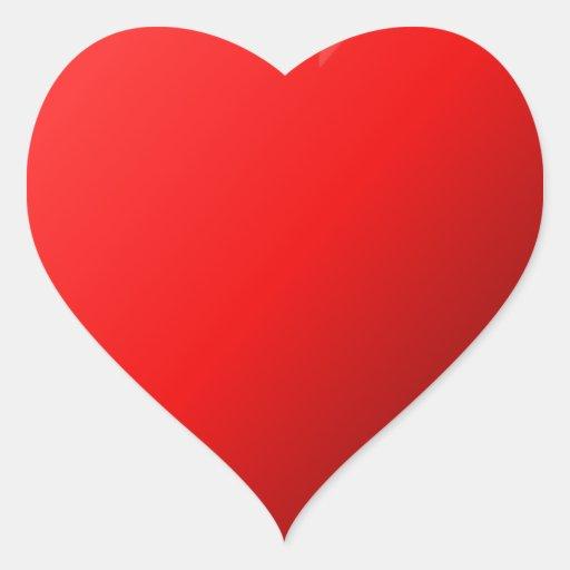 Love Heart Heart Stickers