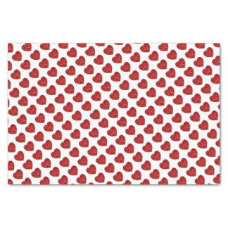 Love heart tissue paper