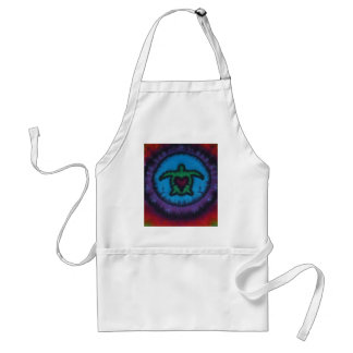 Love Heart Turtles Phat Dyes Tie Dyes Standard Apron