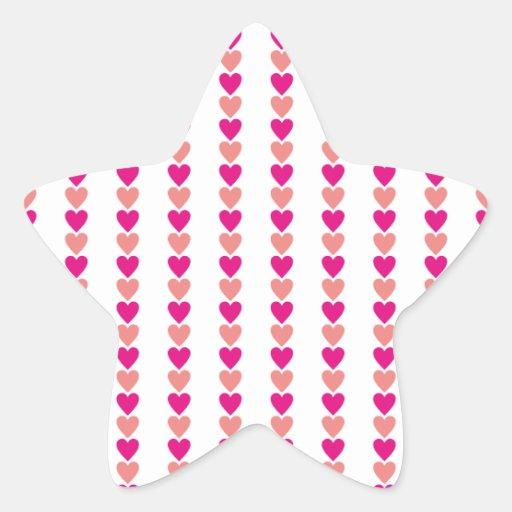 Love Heart Valentine Pink Red Beautiful Lovers Sticker
