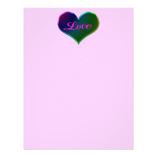 love heart Valentines 21.5 Cm X 28 Cm Flyer