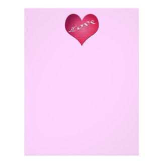 love heart Valentines Full Color Flyer