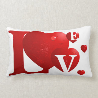 LOVE Hearts American MoJo Pillow