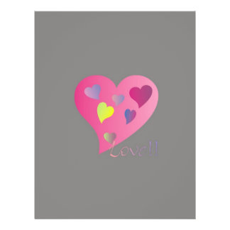 Love Hearts Custom Flyer