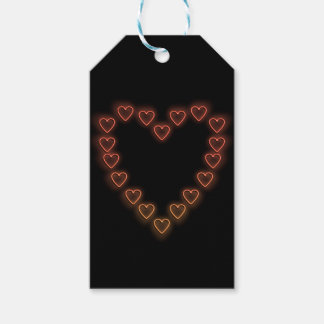 Love hearts. gift tags