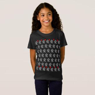 Love/Hearts/Japanese Calligraphy T-Shirt