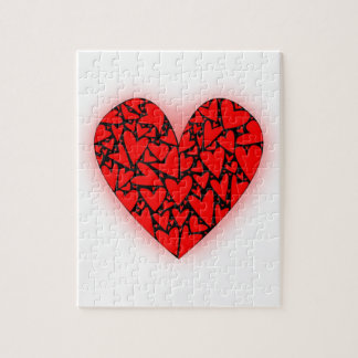 Love Hearts Jigsaw Puzzle