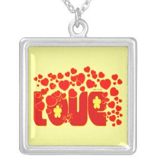 Love Hearts - John 13:34 Necklace