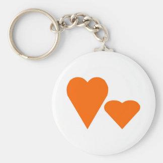 Love Hearts Key Ring