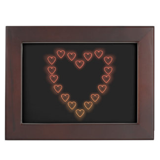 Love hearts. memory boxes