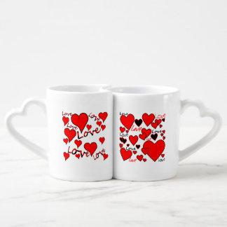 Love & hearts mugs