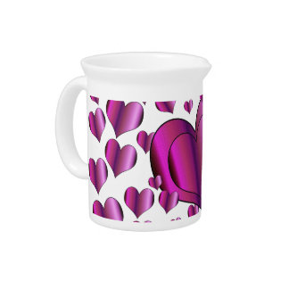 Love Hearts Drink Pitcher