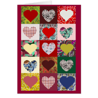 Love Hearts Quilt Card