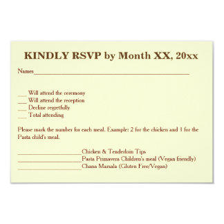 Love Hearts & Red Rose Wedding RSVP Menu Invite