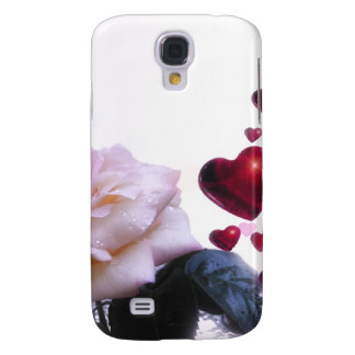 Love Hearts Roses Blossom Flower Destiny Nature Samsung Galaxy S4 Case