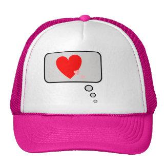 Love Hearts Think Bubble Hat