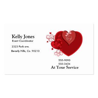 Love Heartstrings Business Cards