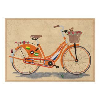 Love Holland, Love Bike Poster