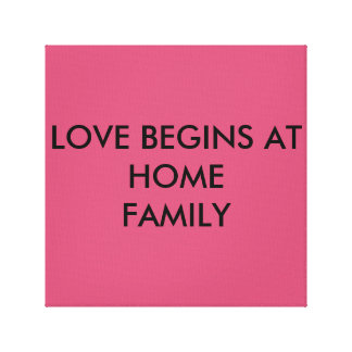 LOVE HOME CANVAS