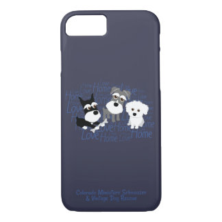 Love, Home - Custom Schnauzer Cell Phone Case