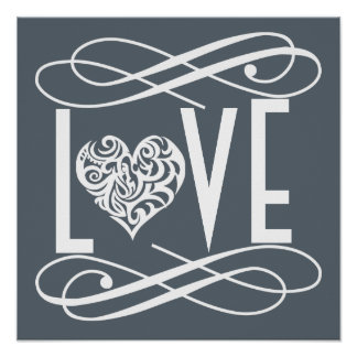 Love Home/ Office Decor Poster