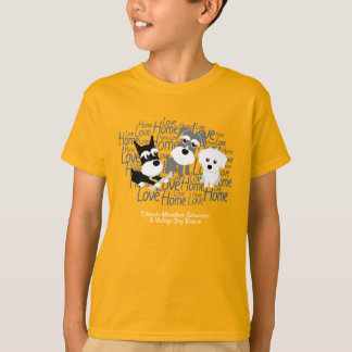 Love, Home - Schnauzer T-Shirt (Children)