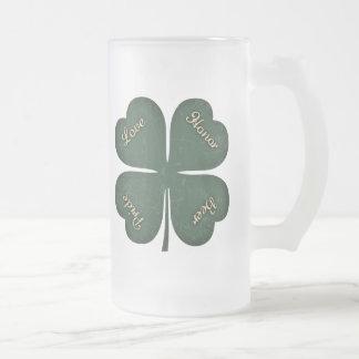 Love, Honor, Pride, Beer Coffee Mugs