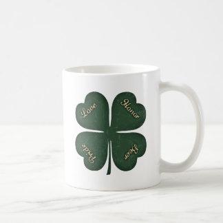 Love, Honor, Pride, Beer Mug