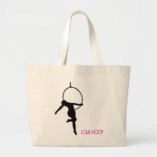 LOVE HOOP Aerial Hoop / Lyra Silhouette Dance Bag