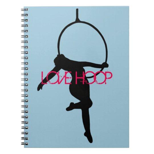 LOVE HOOP Aerial Hoop / Lyra Silhouette Note