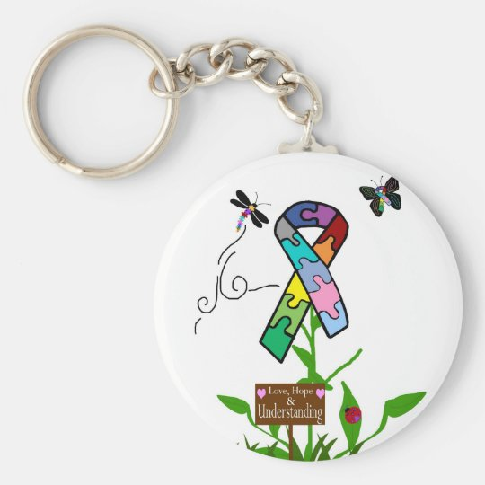 Love Hope and Understanding key chain
