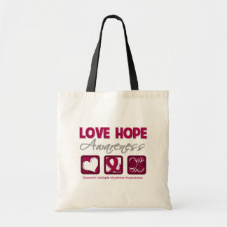 Love Hope Awareness Multiple Myeloma Bag